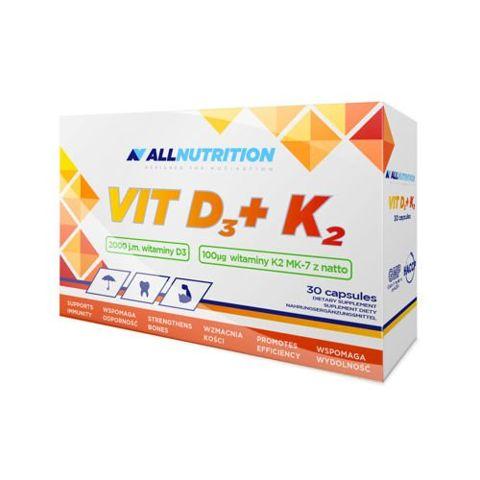 ALLNUTRITION D3 + K2 x 30 kapsułek
