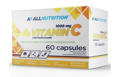 ALLNUTRITION Vitamin C 1000mg  with bioflavonoids x 60 kapsułek