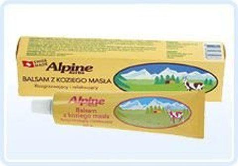 ALPINE HERBS - balsam z koziego masła rozgrzewający i relaksujący 60g