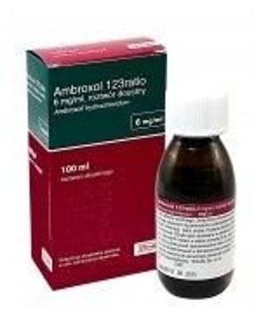AMBROXOL 123 RATIO 6mg/ml syrop 100ml