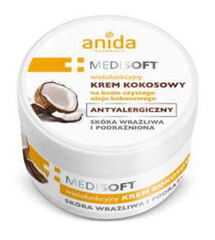 ANIDA Medisoft Krem kokosowy antyalergiczny 125ml