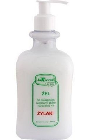 ANTIVERON żel do nóg na żylaki 500ml