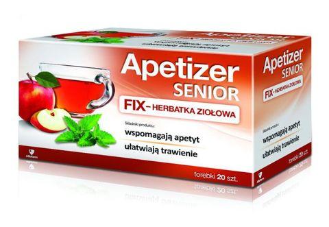 APETIZER SENIOR Herbatka fix x 20 saszetek
