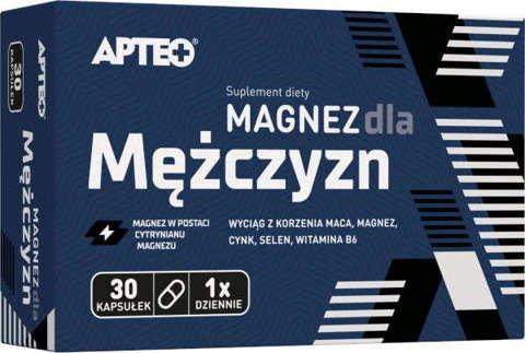 APTEO Magnez dla mężczyzn x 30 kapsułek