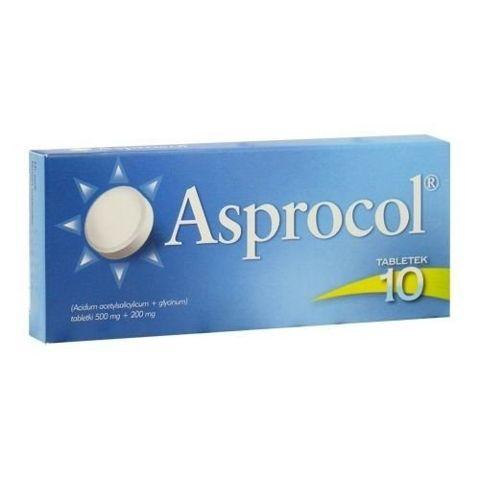 ASPROCOL x 10 tabletek