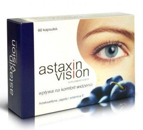 ASTAXIN VISION x 60 kapsułek