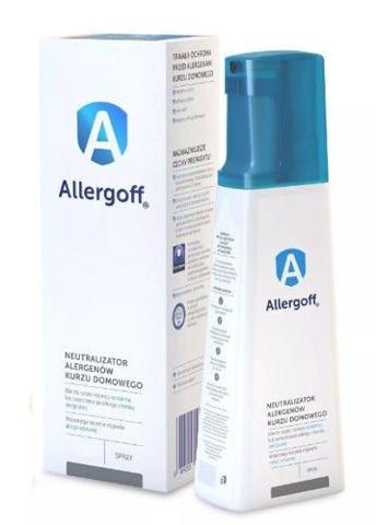 Allergoff neutralizator alergenów kurzu domowego spray 250ml