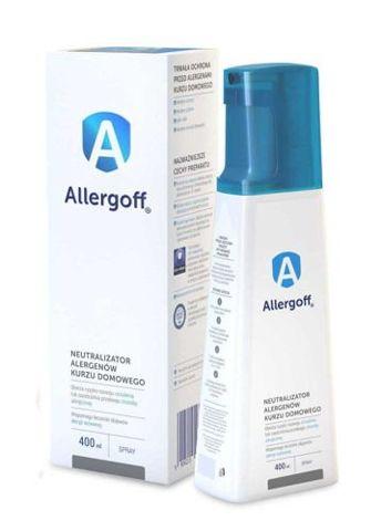 Allergoff neutralizator alergenów kurzu domowego spray 400ml
