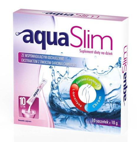 Aqua Slim 10g x 10 saszetek