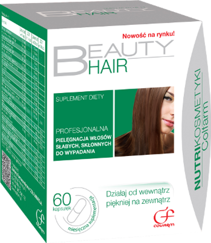 BEAUTY HAIR x 60 kapsułek