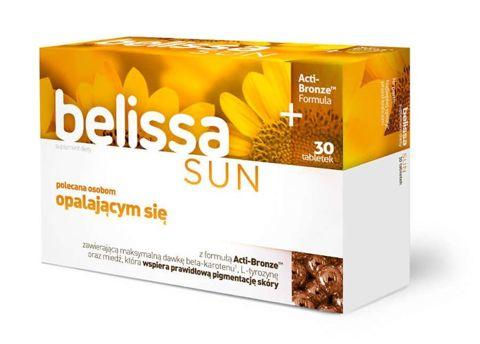 BELISSA Sun x 30 tabletek - data ważności 31-07-2017r.