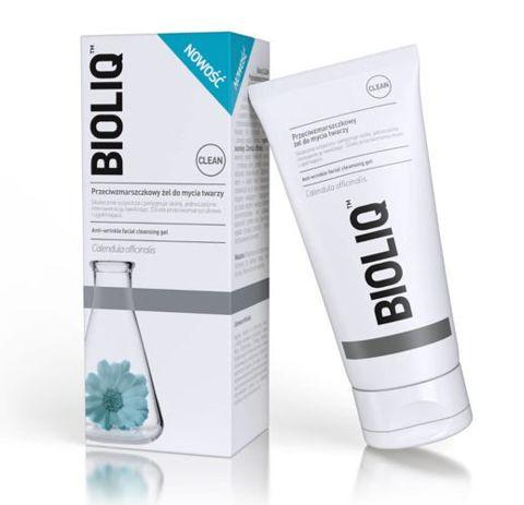 BIOLIQ Clean przeciwzmarszczkowy żel do mycia twarzy 125ml