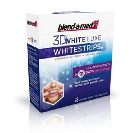 BLEND-A-MED Whitestrips 3D White LUXE x 28 pasków