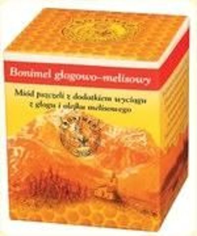 BONIMEL głogowo- melisowy miód leczniczy 250g