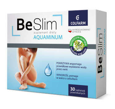 Be Slim AQUAMINUM x 30 tabletek