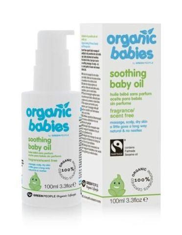 Bezzapachowy kojący olejek dla niemowląt 100ml