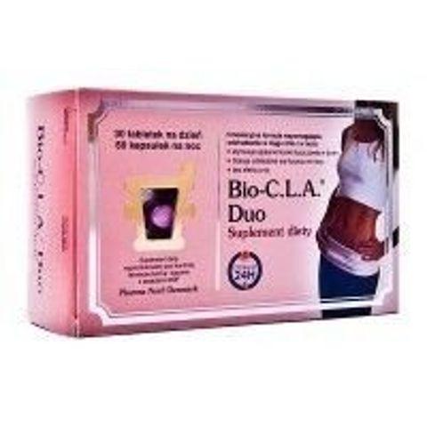 Bio-CLA Duo Tabletki dzień x 30 + kapsułki noc x 60