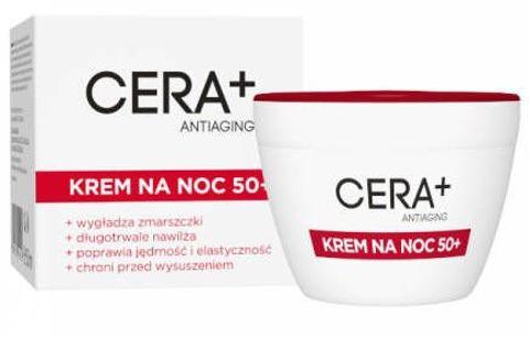 CERA+ Antiaging Krem na noc 50+ 50ml