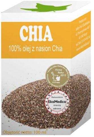 CHIA 100% olej z nasion Chia x 100ml