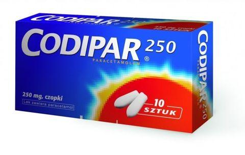 CODIPAR 250mg x 10 czopków