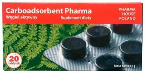 Carboadsorbent 300mg x 20 tabletek
