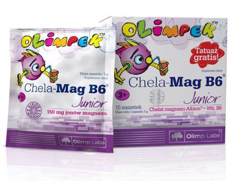 Chela-Mag B6 Junior x 15 saszetek