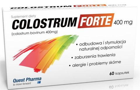 Colostrum Forte 400mg x 60 kapsułek