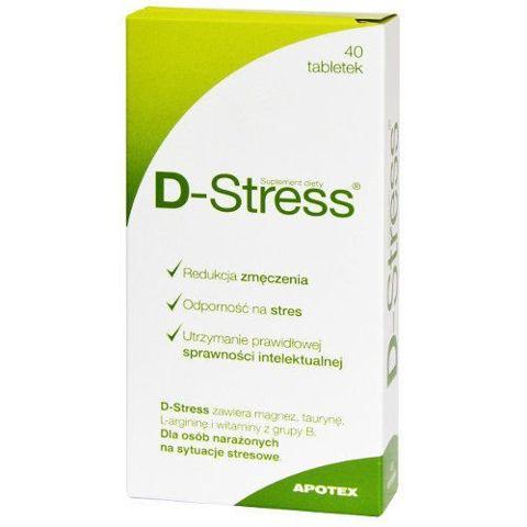 D-Stress x 40 tabletek