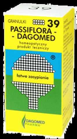 DAGOMED 39 PASSIFLORA Łatwe zasypianie granulki 7g