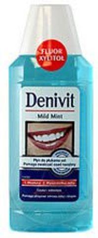 DENIVIT Płyn do płukania jamy ustnej Miętowy 300ml