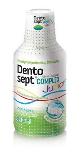 DENTOSEPT COMPLEX JUNIOR Mięta płyn 250ml