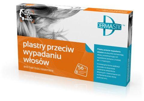 DERMASTIC Plastry przeciw wypadaniu włosów 56 sztuk