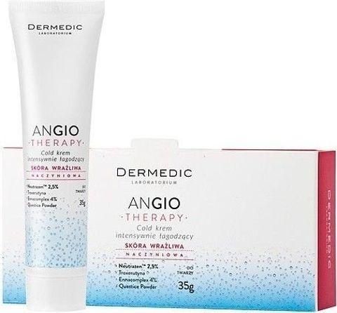 DERMEDIC Angio Therapy Cold krem intensywnie łagodzący 35g
