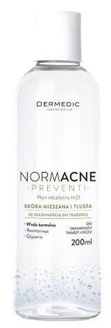 DERMEDIC NORMACNE Preventi płyn micelarny H20 200ml