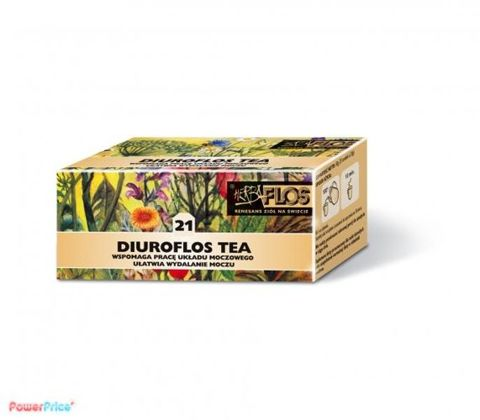DIUROFLOS TEA 21 Fix 2g x 25 saszetek