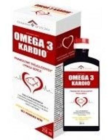 DOMOWA APTECZKA OMEGA 3 KARDIO syrop 250ml smak cytrynowy