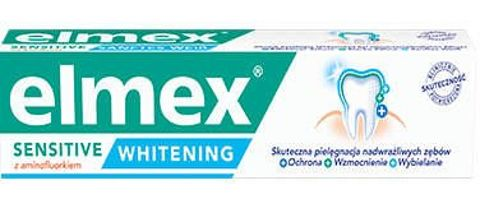 ELMEX SENSITIVE WHITENING pasta do zębów 75ml