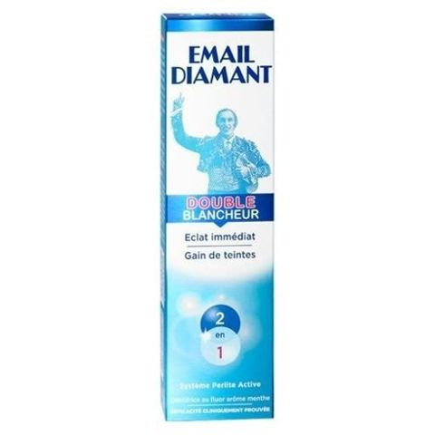 EMAIL DIAMANT DOUBLE BLANCHER Pasta 75ml