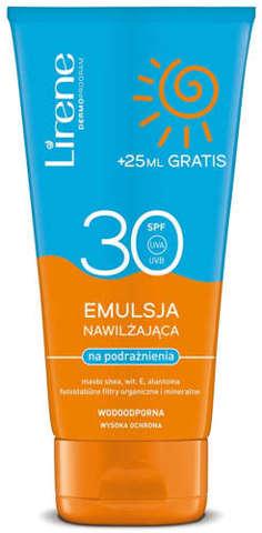 ERIS Lirene Emulsja do opalania SPF30 175ml (150ml+25ml gratis)