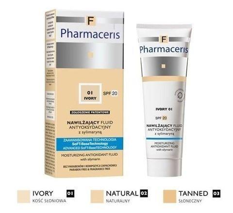 ERIS Pharmaceris F 01 Ivory nawilżający fluid antyoksydacyjny SPF20 30ml
