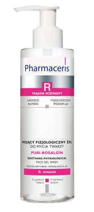 ERIS Pharmaceris R Puri-Rosalgin kojący fizjologiczny żel do mycia twarzy 190ml