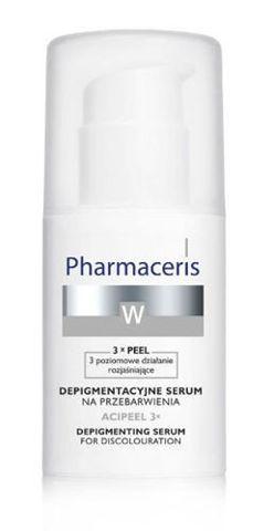 ERIS Pharmaceris W ACIPEEL 3X Depigmentacyjne serum na przebarwienia na noc 30ml