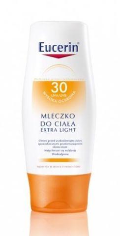 EUCERIN SUN Mleczko do ciała SPF 30 Extra light 150ml