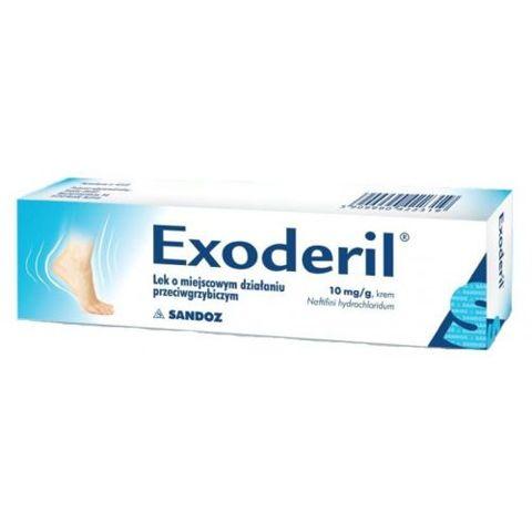 EXODERIL 1% krem 15g