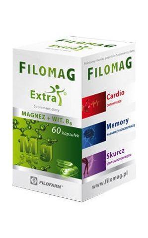 FILOMAG EXTRA x 60 kapsułek