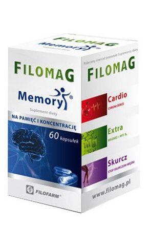 FILOMAG MEMORY  x 60 kapsułek