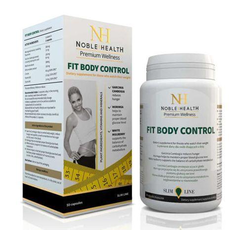 FIT BODY CONTROL Noble Health x 50 kapsułek