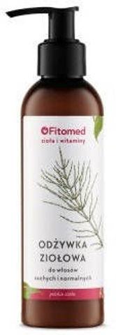 """FITOMED Odżywka ekstraziołowa regenrująca """"Zioła i witaminy"""" wł. suche i normalne 200ml"""