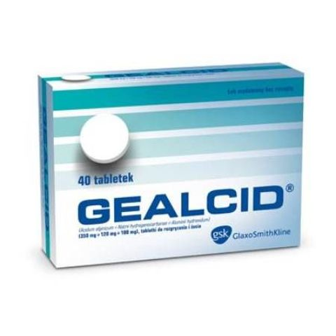 GEALCID x 40 tabletek