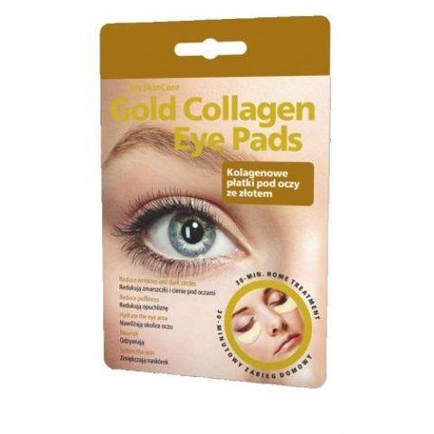 GLYSKINCARE Gold Collagen Eye pads - kolagenowe płatki pod oczy ze złotem x 1 komplet